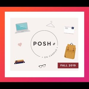 I'm a Posh on Campus Rep! 🎒📓📚📝